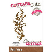 CottageCutz Elites Die Cuts, 1.2 by 3-Inch, Fall Vine Multi-Colored