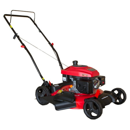 "PowerSmart PS2194CR 21"" 2-in-1 170 cc Gas Push Lawn Mower"