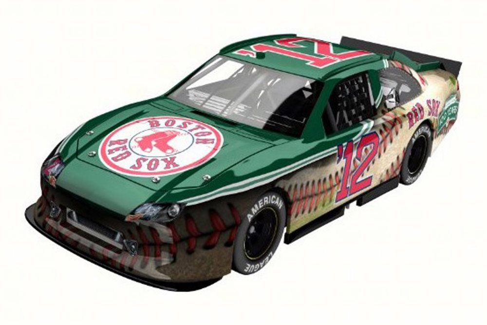 Boston Red Sox 2012 Ford Fusion Fenway Park 100 Years, Green Lionel Nascar 1 24 Scale... by Lionel