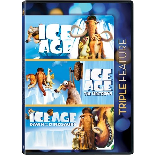 Ice Age / Ice Age: The Meltdown / Ice Age: Dawn Of The Dinosaurs (Widescreen)