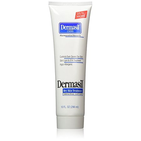 Dermasil Labs Dry Skin Treatment, Original Formula, 10 oz Tube (Bath And Body Lab)