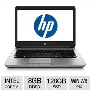 "REFURBISHED - HP 640 G1 14.0"" Notebook - J8U61U8#ABA"