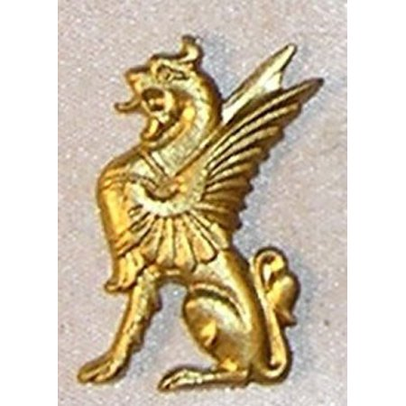 Dollhouse Egyptian Dragon, Gold Color