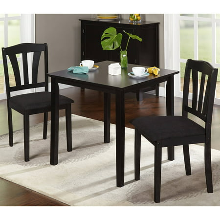Metropolitan 3 Piece Dining Set Multiple Finishes Walmart Com