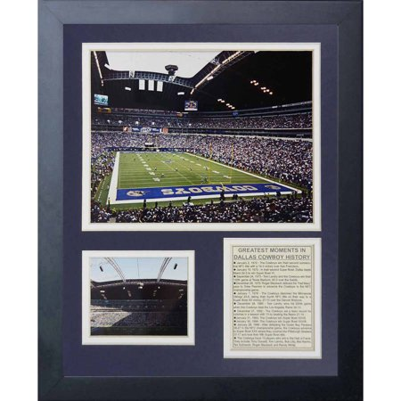 Legends Never Die Dallas Cowboys Texas Stadium Framed Photo Collage, 11