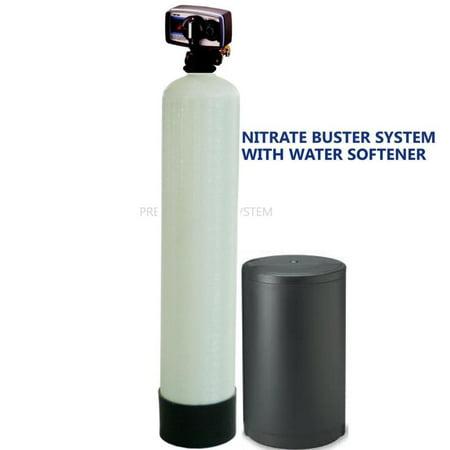 - PREMIER WATER SOFTENER NITRATE REDUCTION SYSTEM 1.5 ft3 FLECK 5600 METER VALVE
