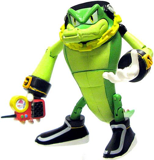 Sonic The Hedgehog Vector The Crocodile Action Figure Holding Phone Walmart Com Walmart Com