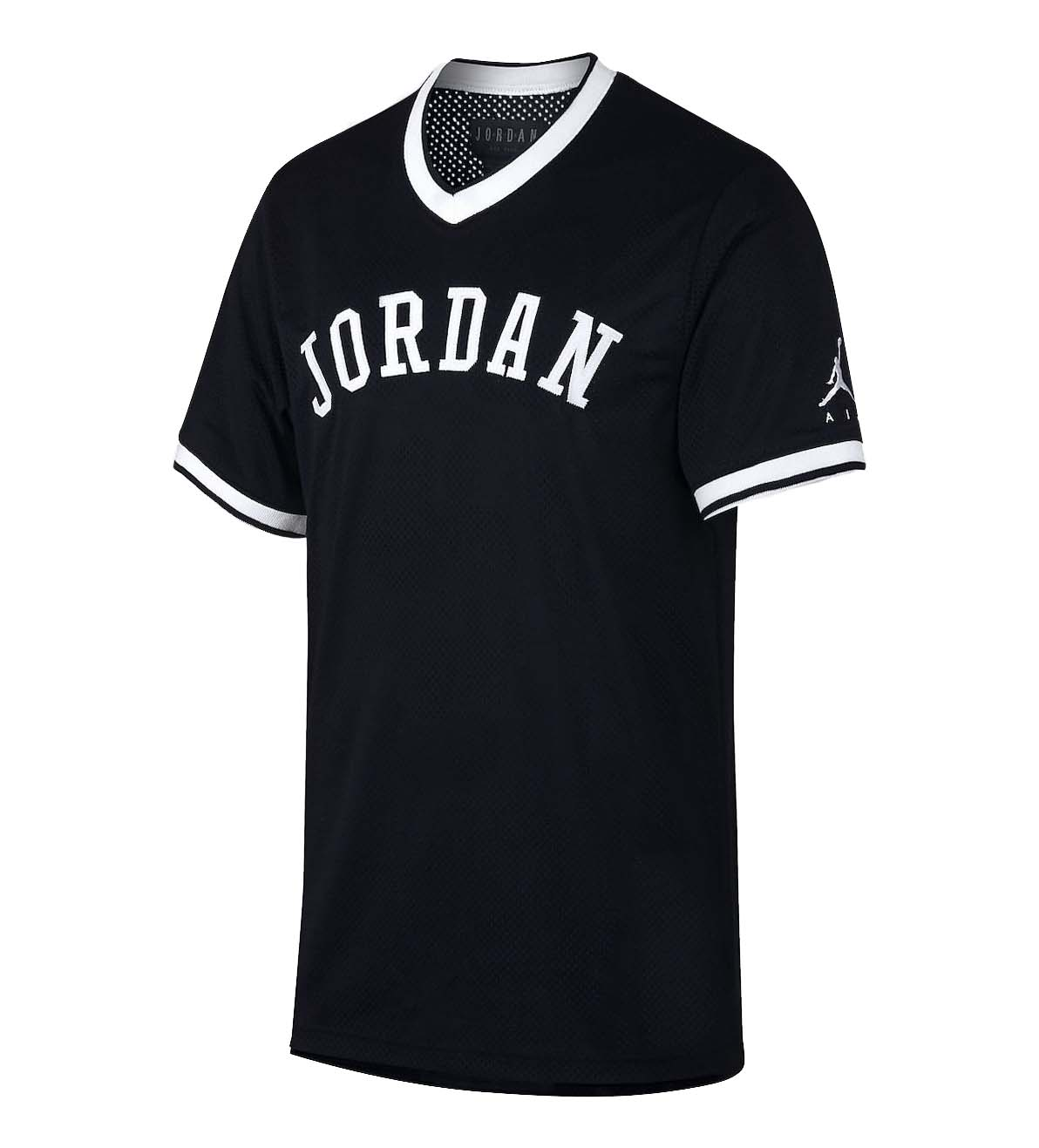 traducir Celo insertar  Jordan Men's Nike Jumpman Air Mesh Jersey Top (Medium, Black/White) -  Walmart.com - Walmart.com