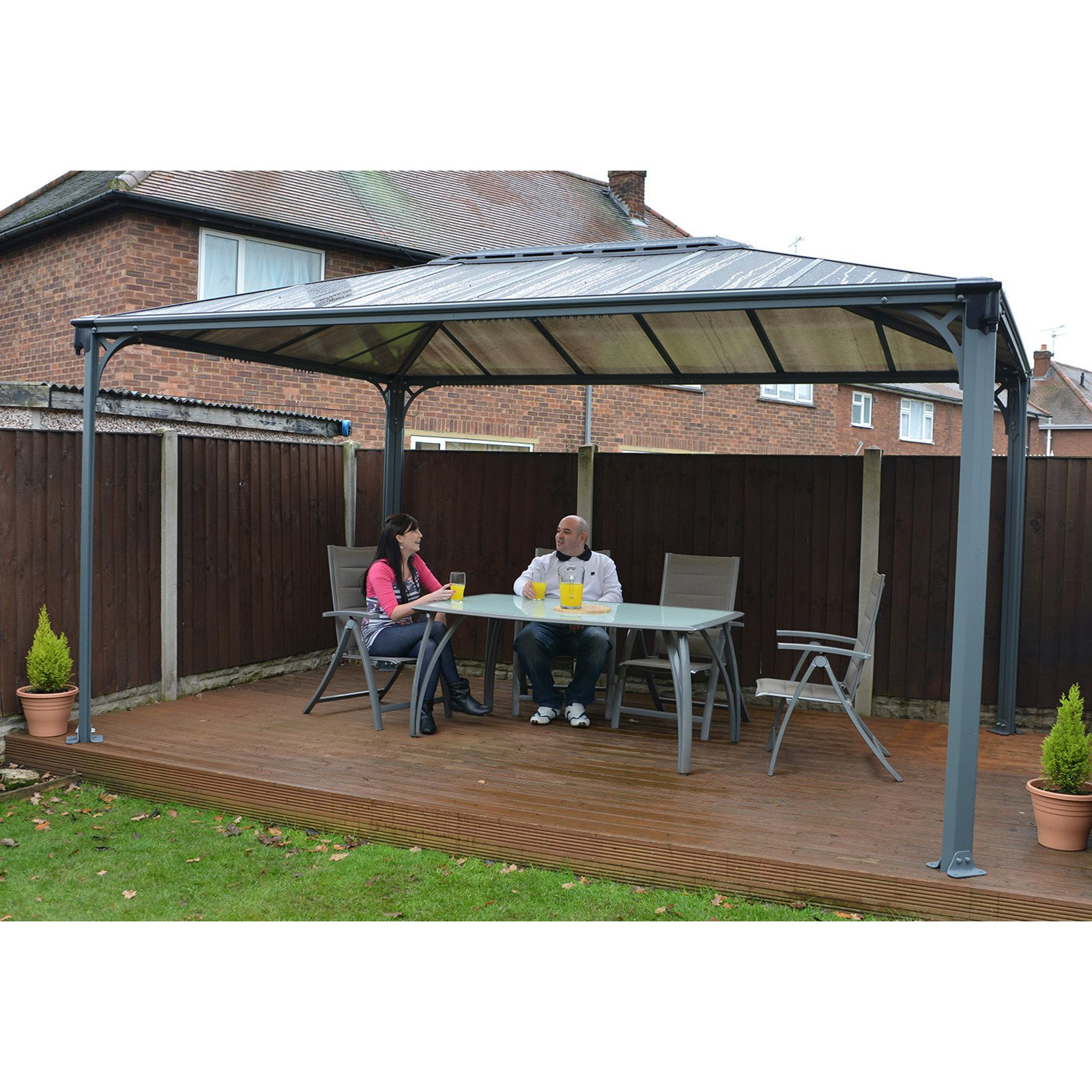 Martinique Gazebo, 10u0027 X 12u0027   Walmart.com