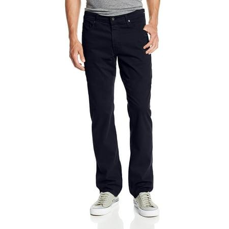 Mens Pants 36X34 Tailored-Leg Stretch 36