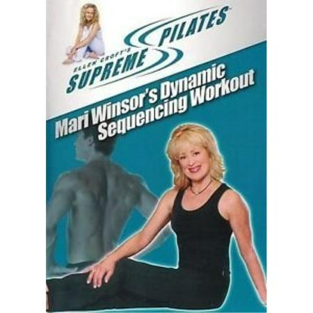 mari winsor's dynamic sequencing workout -- ellen croft supreme pilates -- dvd ()