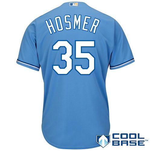 Eric Hosmer Kansas City Royals Majestic Official Cool Base Player Jersey - Light Blue