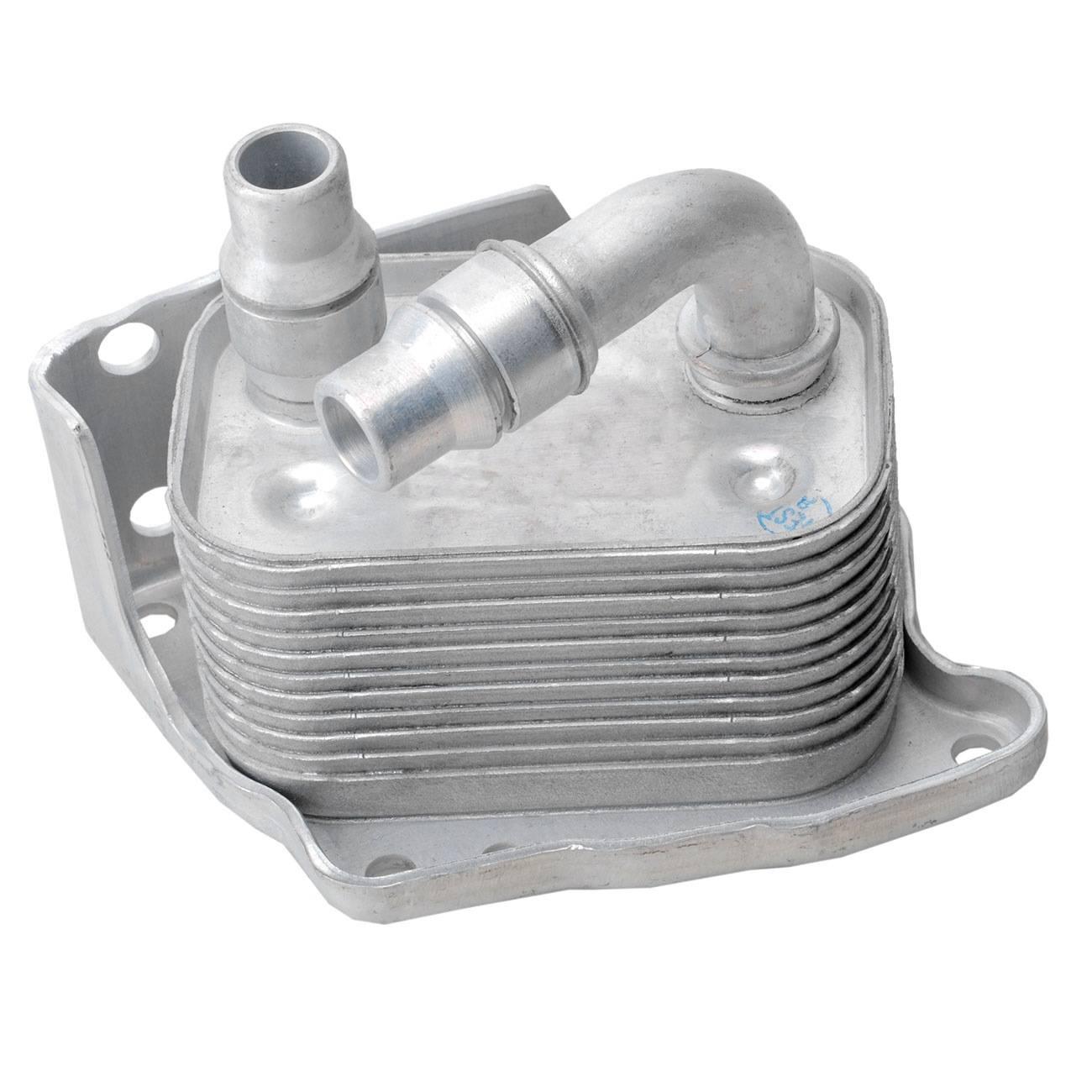 Bapmic 11427508967 Engine Oil Cooler Heater Exchanger for BMW E46 E60 E81 E87 E90 X3 E83 Z4 E85