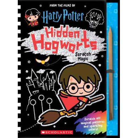 Magic Color Scratch Heart (Hidden Hogwarts: Scratch Magic)