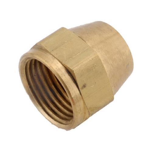 """Anderson Metals 714014-04 2PK 1/4"""" Short Rod Nut - Quantity 10"""