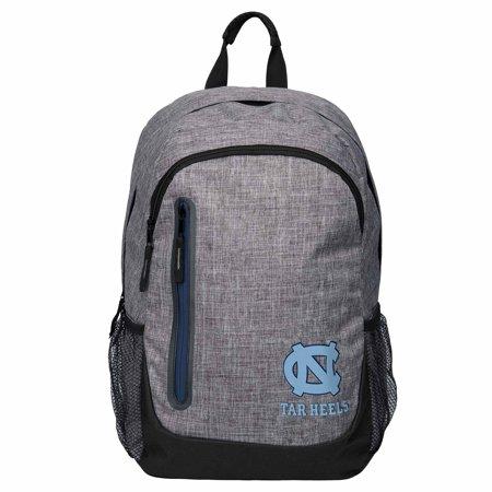 North Carolina Tar Heels Heathered Gray Backpack North Carolina Picnic Backpack