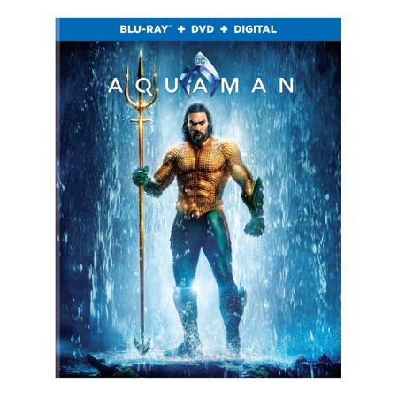 Aquaman (Blu-ray + DVD + Digital Copy)