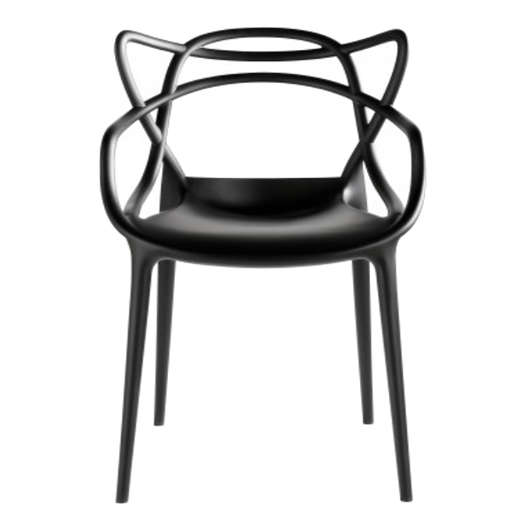 Fine Mod Dining Chair In Black