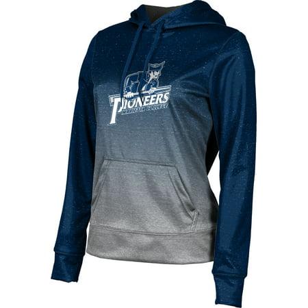 College Pullover (ProSphere Women's Marietta College Ombre Pullover Hoodie)