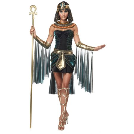 Egyptian Goddess Women's Adult Halloween Costume (Goddess Costume For Women)