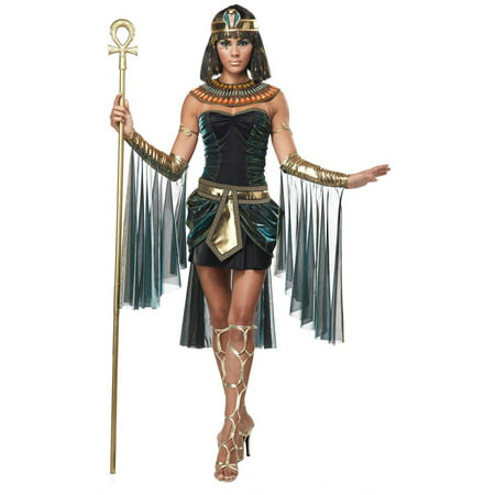 Egyptian Goddess Women's Adult Halloween Costume - Roman Goddess Halloween Costume