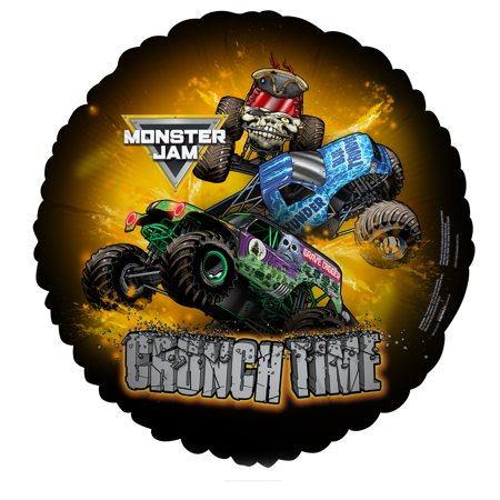 Monster Jam Party Supplies 2 Pack Foil Balloons - Monster Truck Party Supplies