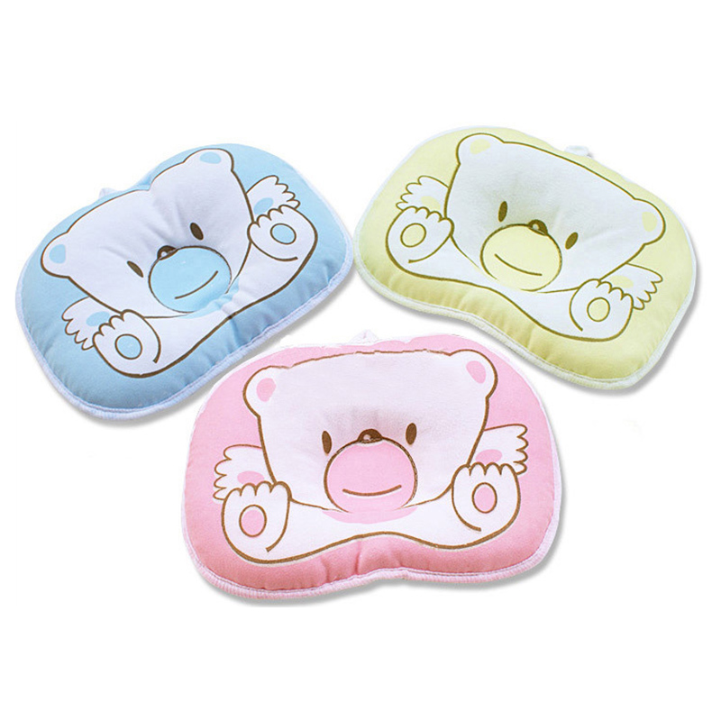 CHOIFOO Cute Baby Flat Head Toddler Pillow Newborn Baby Nursing Sleep Positioner Pillow MZ