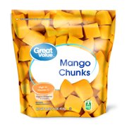 Great Value Frozen Mango Chunks, 16 oz