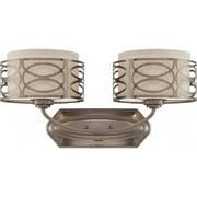 Nuvo Lighting  60/4722  Bathroom Fixtures  Harlow  Indoor Lighting  Vanity Light  ;Hazel Bronze