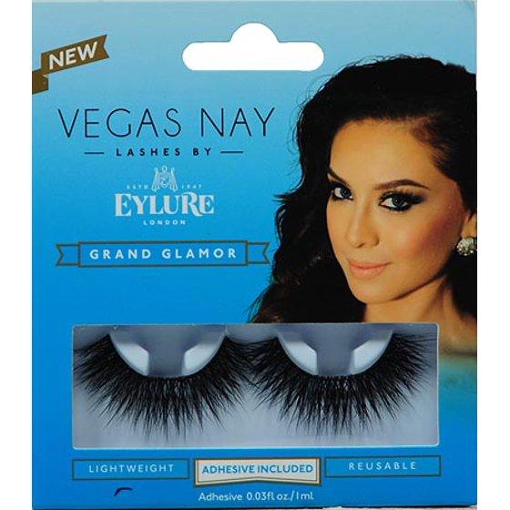 cc7ce3571d7 Vegas Nay by Eylure Grand Glamor Eyelashes Kit, 2 pc - Walmart.com