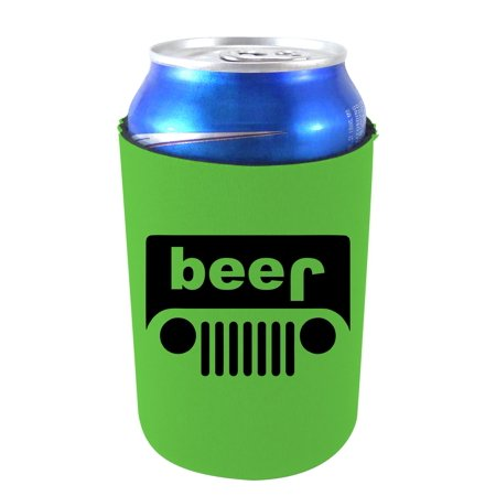 Coolie Junction Beer Truck Funny Can Coolie (Yellow) (Funny Coozies For Cans)
