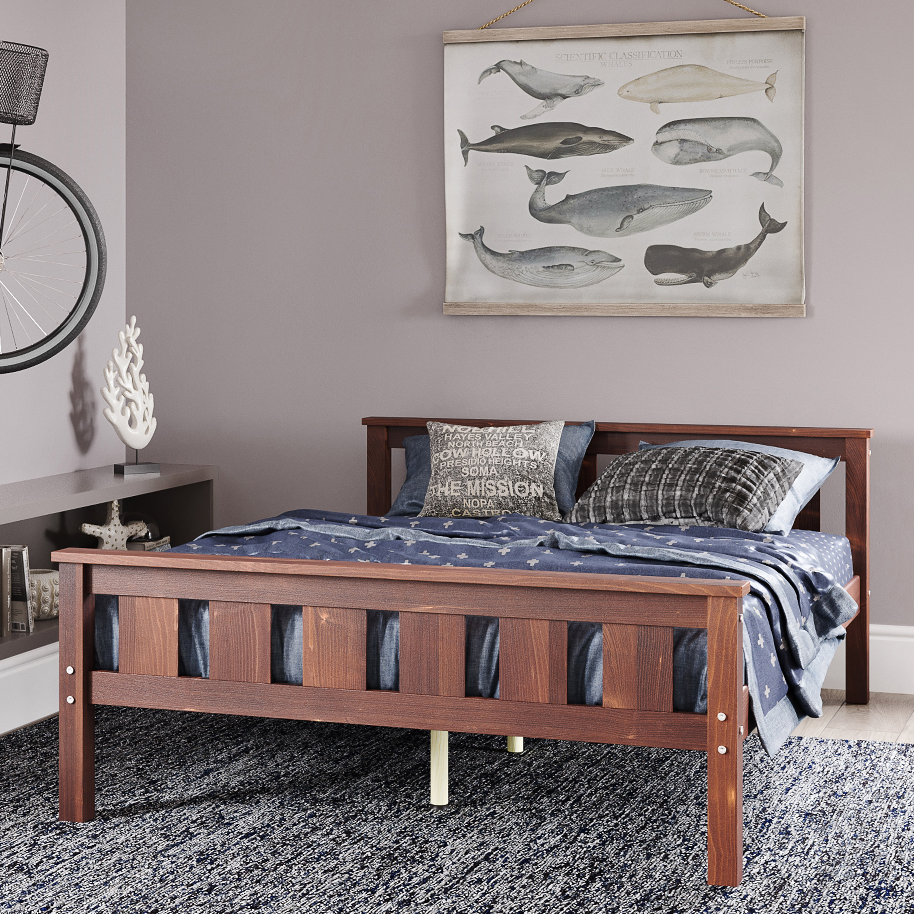 Classic Full Sized Bed Ideas
