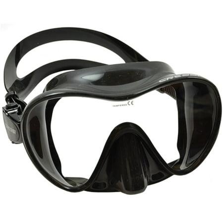 Mask Clear Scuba Dive - Cressi Scuba Snorkeling Frameless Dive Mask, Clear