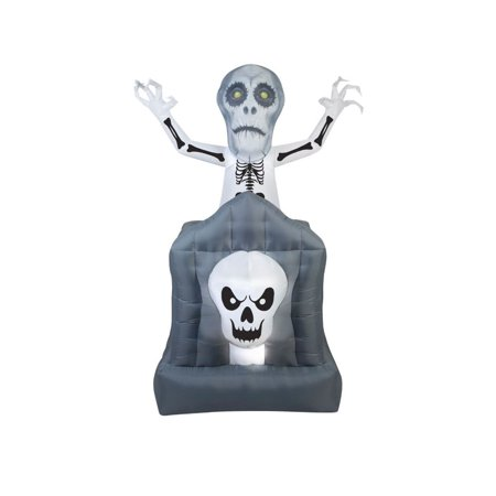 Jack Skellington Airblown Halloween Decoration - Halloween Skellington