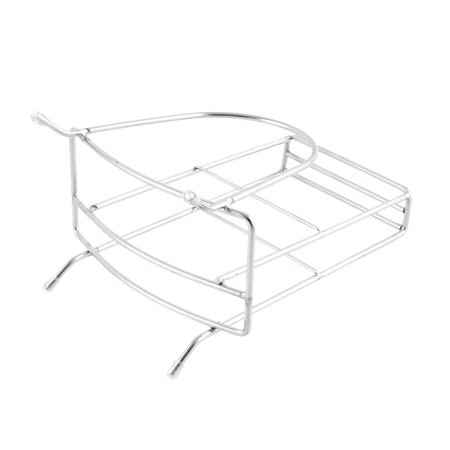 Kitchen Stainless Steel Water Draining Cutting Board Cutlery Holder Rack - image 1 of 3