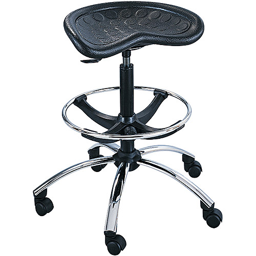 Ofm Anti Bacterial Utility Stool With Gas Lift Adjustment
