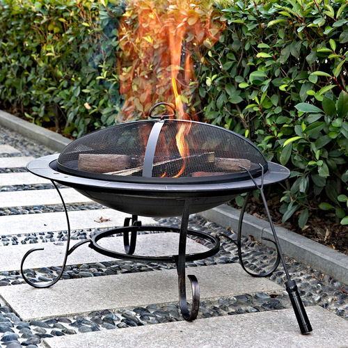 "Andover 30"" Round Steel Fire Pit"