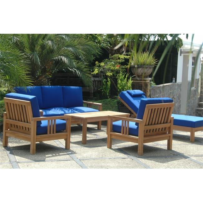 Anderson Teak SET-254 South Bay Deep Seating Collection Set by Anderson Teak