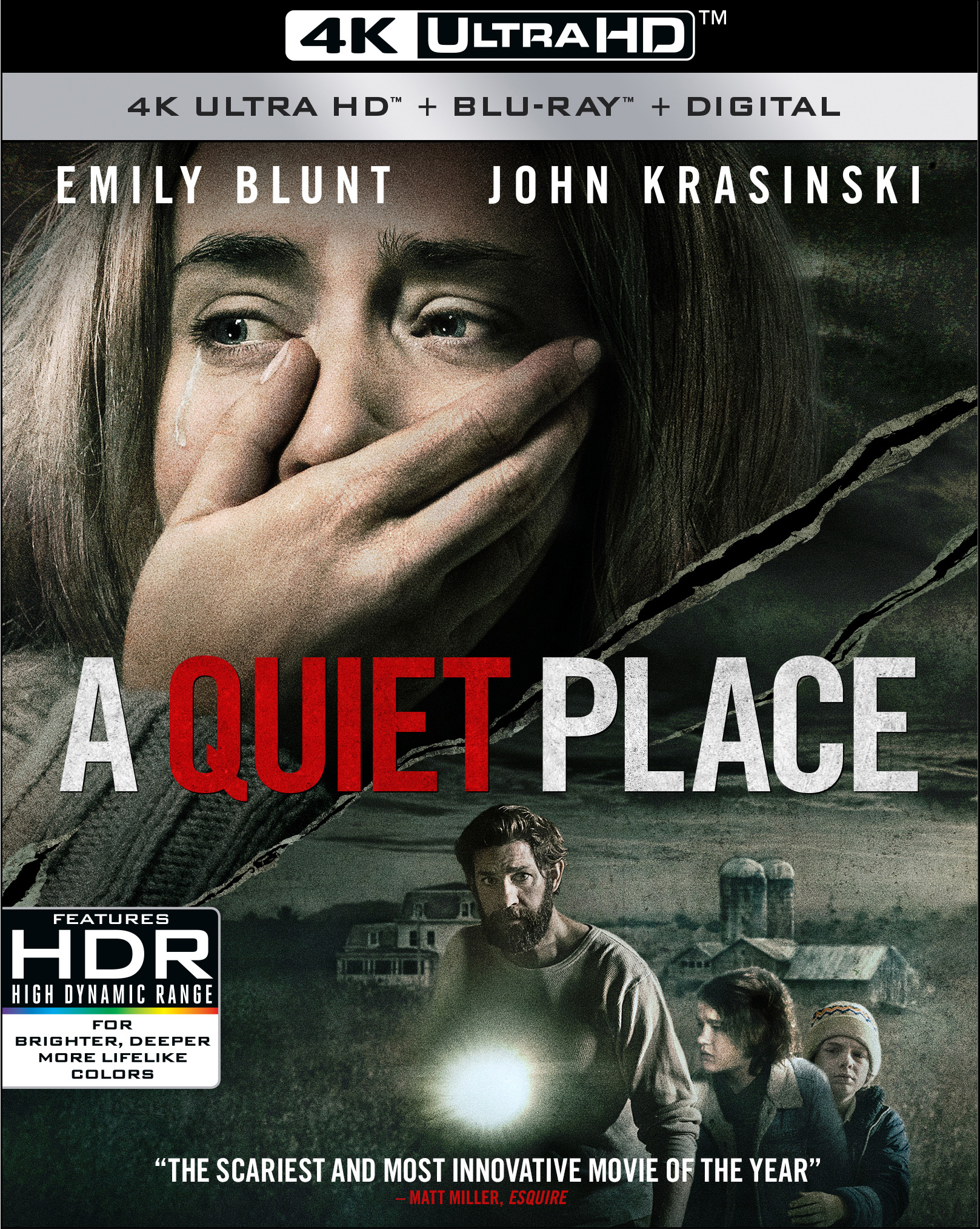 A Quiet Place (4K Ultra HD + Blu-ray + Digital) by
