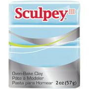 Sculpey III Polymer Clay 2oz-Sky Blue