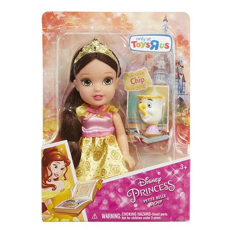Belle Plush Doll - Disney Princess Belle Petite Doll and Chip