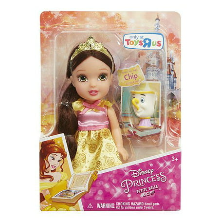 Disney Princess Belle Petite Doll and Chip](Hawaiian Disney Princess)