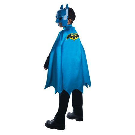 Child's Deluxe Blue Batman Comic Book Style Cape Costume Accessory](Blue Cape Costume)