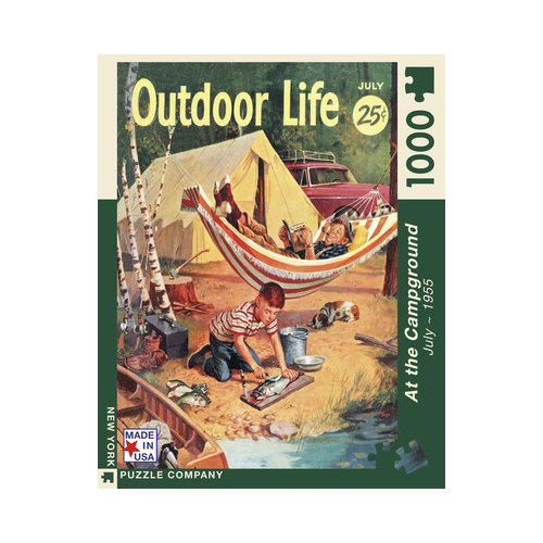 The Camping Trip 100pc Puzzle