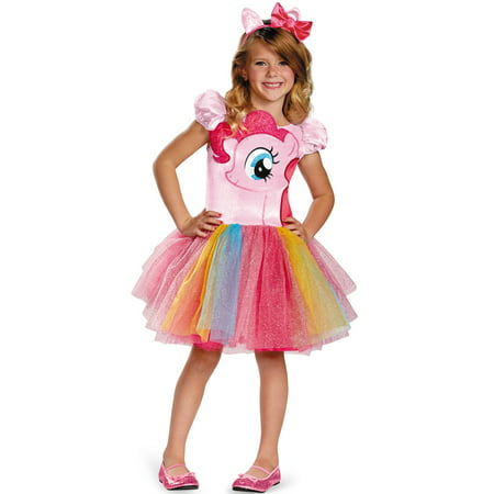 Pinkie Pie Tutu Prestige Child Costume - Pinkie Pie Equestria Girl Costume