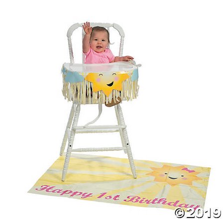 Todays My Birthday (You Are My Sunshine 1st Birthday High Chair Decorating)