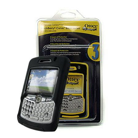 8310 Faceplate (OtterBox Defender Case for Blackberry Curve 8300, 8310, 8320, 8330 - Black )