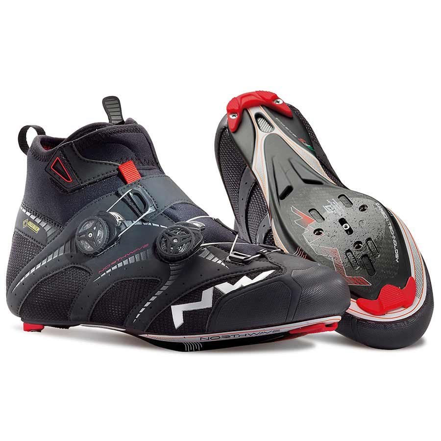 Northwave, Extreme Road Winter GTX FW14, Road shoes, Black, 42 by Northwave