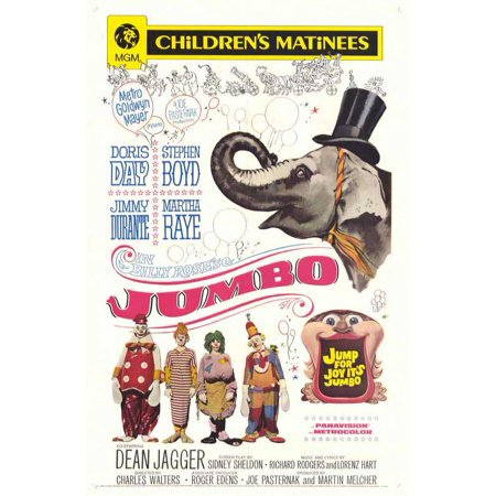 Jumbo POSTER Movie B Mini - Jumbo Movie