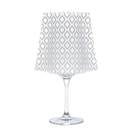 Modgy SH5002x2 Lumizu Wine Glass Shade GiGi-Pack of - Wine Glass Shades